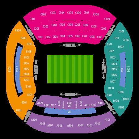Билеты на футбол стадиона Фишт Сочи